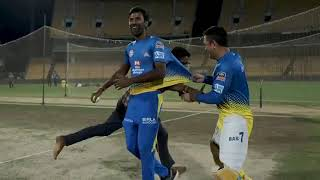 Another Day Another Fan Breached Security To Meet Ms Dhoni