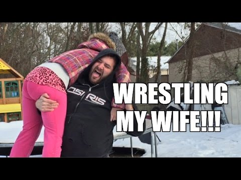 Fat Man Wrestles Wife Weirdo Put Through A Table Backyard Wrestling