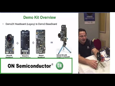 Features and Set-up of the Mainstream CMOS Image Sensor Demo Boards