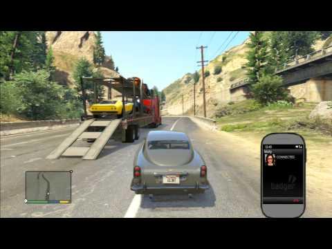 GTA V FRANKLIN DLEVRING ALL CARS TO DEVIN