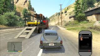GTA V FRANKLIN DLEVRING ALL CARS TO DEVIN