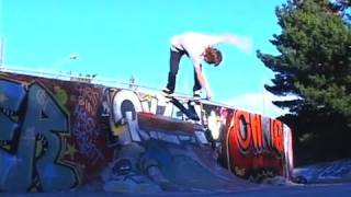 "Chris ""ratface"" Jatoft : Whoa! Of The Week (diy Quarterpipe Session)"