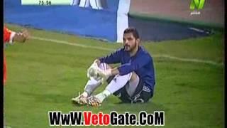 جماهير القسنطينى تشعل الشماريخ فى مباراة مصر المقاصة