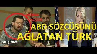 ABD Sözcüsünü Ağlatan Türk Gazeteci