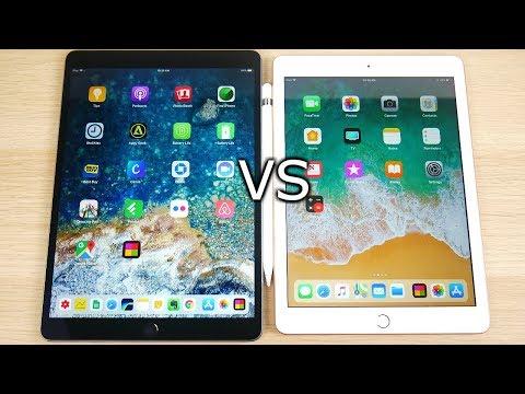 iPad Pro 10.5 vs iPad 2018 Speed Test!