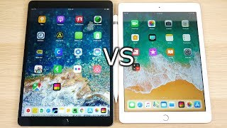 iPad Pro 10.5 vs iPad 2018 Speed Test!