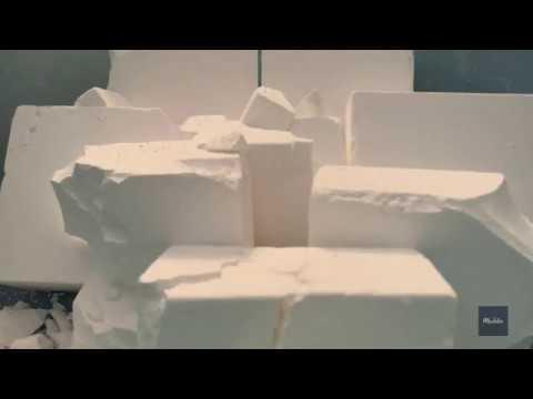 ASMR-Prof Grade Magnesium Carbonate Gym Chalk Crumble & Powder Play W/*Bonus Audio Only