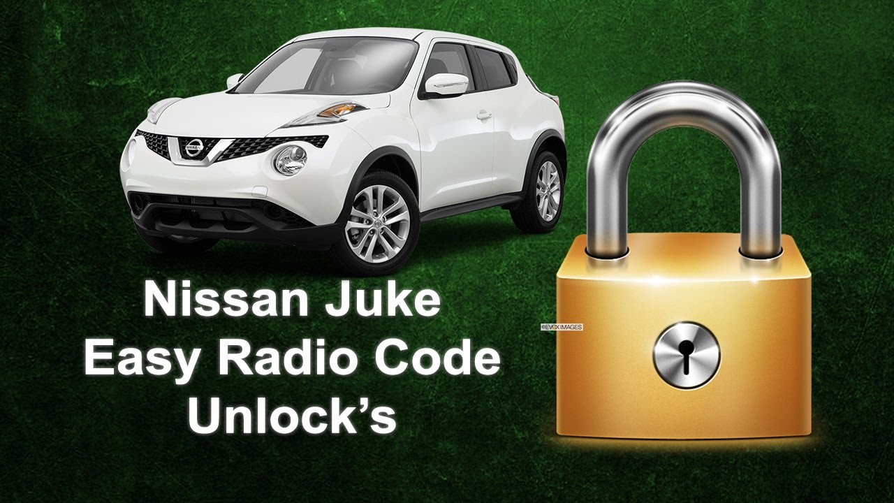 How To Find Your Nissan Juke Radio Using Serial No