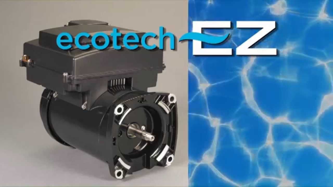 installing ecotech ez variable speed pool pump motor youtube