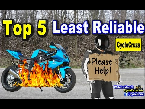 Top 5 Least Reliable Motorcycle Brands and Most Reliable ...