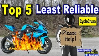 Top 5 Least Reliable Motorcycle Brands and Most Reliable | MotoVlog