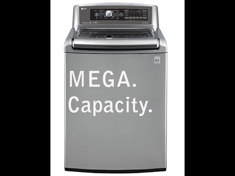 Lg 6 1 Cu Ft Mega Capacity He Top Load Washer Review And