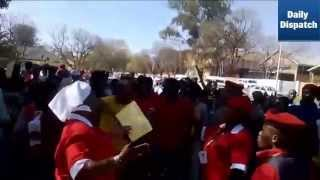 EFF sing anti-Zuma song outside Mthatha court