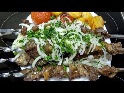 Как приготовить #шашлык из баранины в духовке #вкусноибыстро  #вкусно и быстро