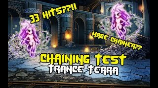 Final Fantasy Brave Exvius - Chaining with Trance Terra (Test)