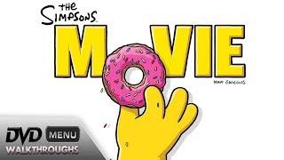 The Simpsons Movie (2007) DvD Menu Walkthrough