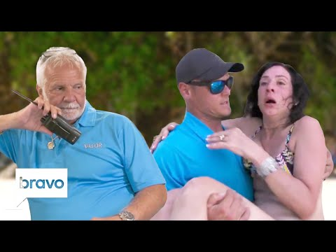 Captain Lee And The Crew Tackle A Passenger's Medical Scare | Below Deck Highlights (S7, Ep4)