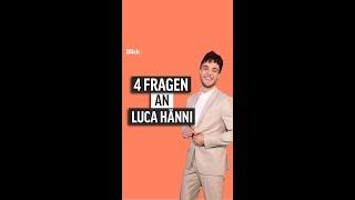 4 Fragen an Luca Hänni #shorts
