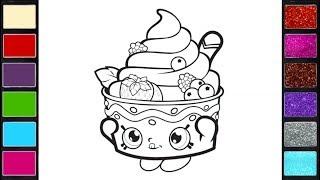 رسم وتلوين ايس كريم للاطفال/ لعب ومرح للاطفال/ drawing & coloring ice cream for kids