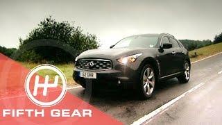 Fifth Gear Infinity FX30D Review смотреть