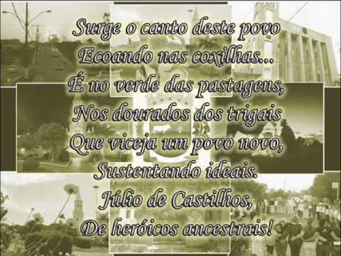 Conheça o Hino de Júlio de Castilhos