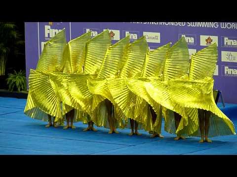 Team China Synchronized Swimming Montreal November 2009