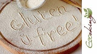 Как сделать безглютеновую смесь/муку (2 варианта + примеры выпечки) / How to make gluten free blend