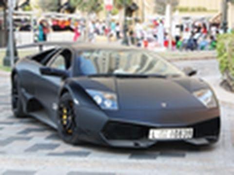 Matte Black Lamborghini Murcielago Lp670 4 Sv Youtube