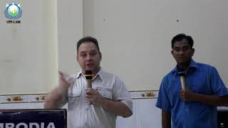 This is exchange program between HTM Russian and HTM Cambodia in Battambang Office,