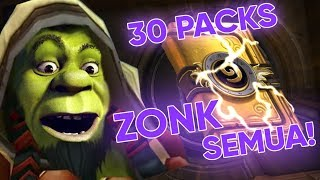 Unboxing Packs Hearthstone Sampe Murka  -  Pay To Win