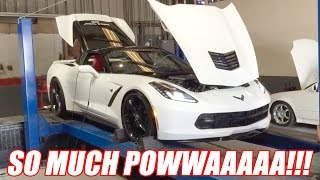 My Corvette Just Made SO MUCH POWER! R.I.P. My Engine