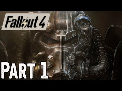 Fallout 4 Walkthrough Part 1 No Commentary Gameplay Lets Play FULL GAME