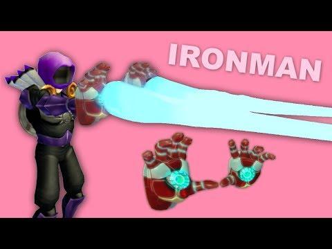 *New* IRONMAN Repulsors GAMEPLAY [Strucid] | Roblox
