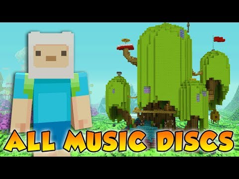 Minecraft Xbox - Adventure Time Mash-up Pack - All Music Discs LIVE! (TU53 Update Out!)