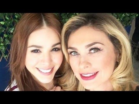 Aracely Arambula y Danna Paola cantan Yo soy la doña sin dueño en una fiesta