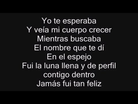 Yo Te Esperaba - Alejandra Guzmán - CON LETRA