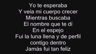 Alejandra Guzmán - Yo Te Esperaba (Letra)