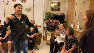 Má Giàu gặp sự cố khó đỡ tại nhà hoa hậu Thu Hoài cùng Trấn Thành và nhóm bạn
