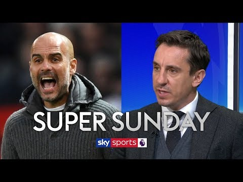 Gary Neville highlights where Man City and Liverpool could drop points in title race   Super Sunday