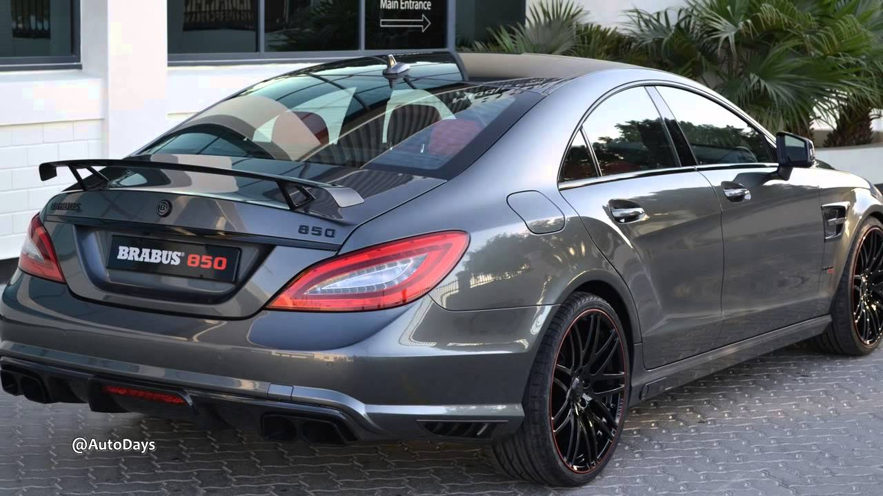 New Brabus Mercedes Benz Cls 850 6 0 Biturbo Preview Youtube