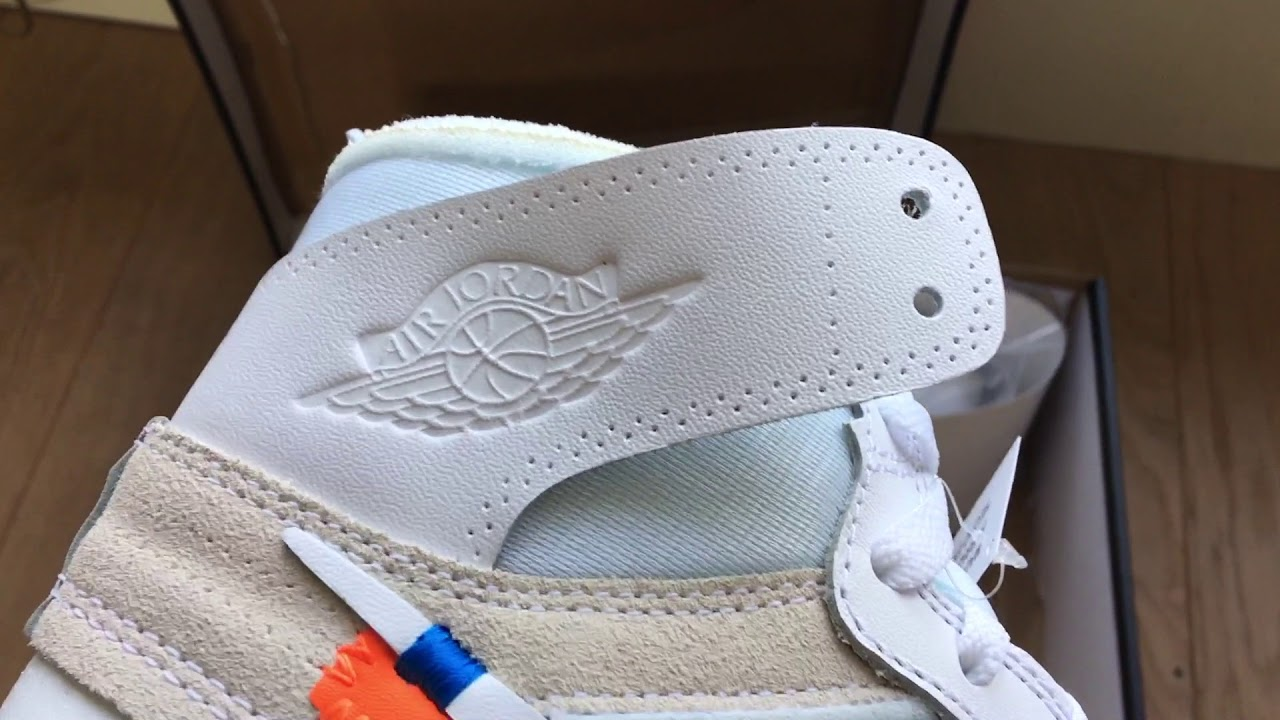 reputable site 2ccda dd9e2 Nike Air Jordan 1 x OFF WHITE NRG Unboxing