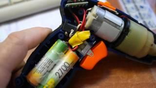 Cordless screwdriver NT-SD4 ta'mirlash.8 METRO almashtirish batareyalar.