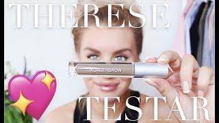 Therese Testar: WUNDERBROW 💖 Vattenfasta ögonbryn!