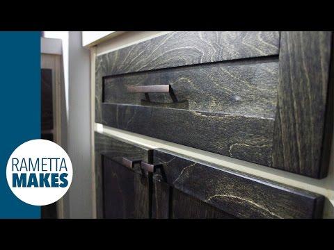Kitchen Makeover - Make New Shaker Cabinet Doors // DIY