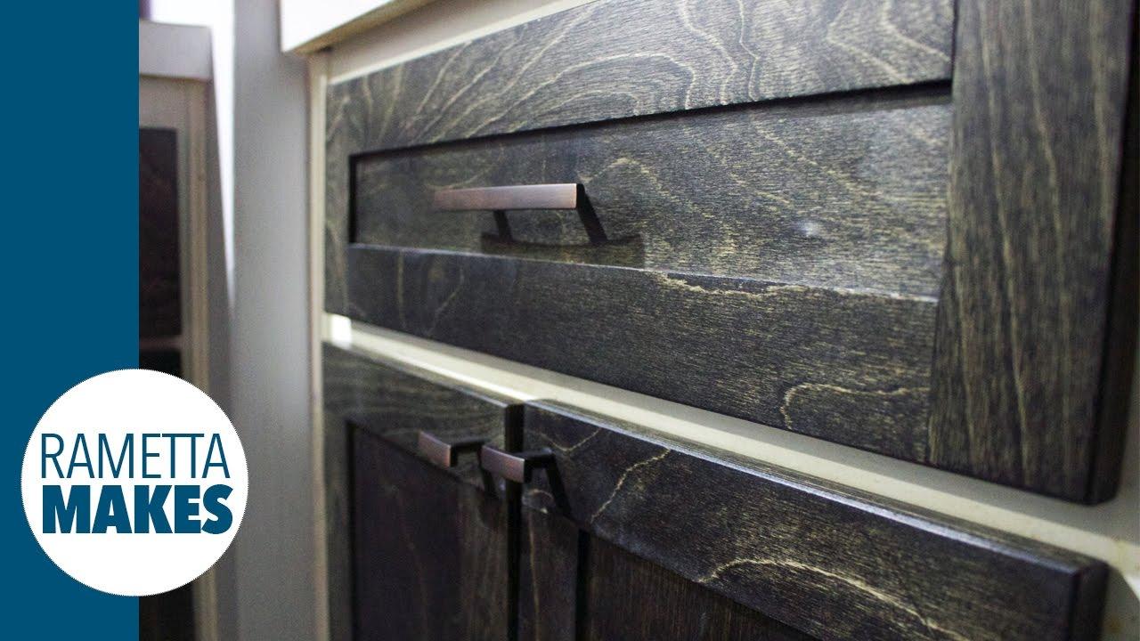 Kitchen Makeover Make New Shaker Cabinet Doors Diy