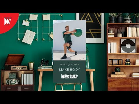 MAKE BODY с Натальей Смирновой   3 июня 2020   Онлайн-тренировки World Class