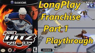 NHL Hitz 2003 - Longplay (Franchise Mode) (Part 1 of 2) Full Game Walkthrough (No Commentary)