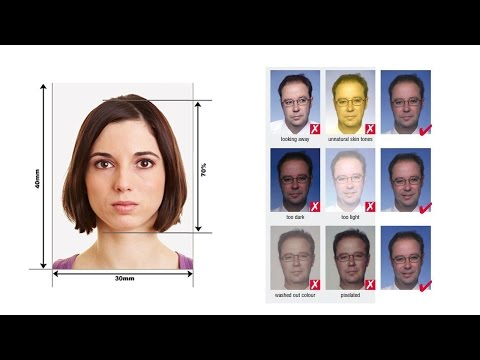 How To Make schengen Visa Photo In Photoshop -Photoshop Tutorial