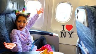 Flying to New York vlog (Part 1)