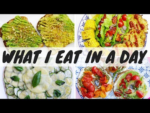 WHAT I EAT IN A DAY / ITA / Cosa mangio in un giorno / AVOCADO RICETTE EDITION #26